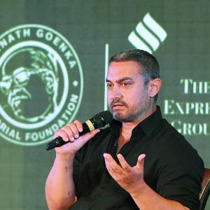 Kiran even suggested leaving India, says Aamir on growing intolerance