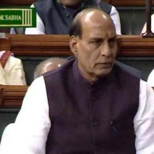Rajnath's swipe at Aamir: 'Ambedkar didn't want to leave India'