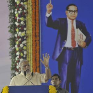 'If Ambedkar had not been there, where would this Modi be?'