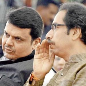 Compulsions make BJP, Sena glue together in Maharashtra