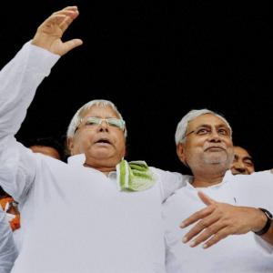 'Nitish had no option but to join Lalu Prasad'
