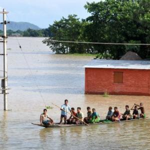 Assam floods: Villagers face grim odds; over 7.35 lakh affected