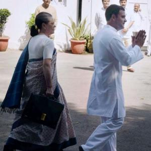 Rahul, wait another year: Sonia to stay on as Congress president