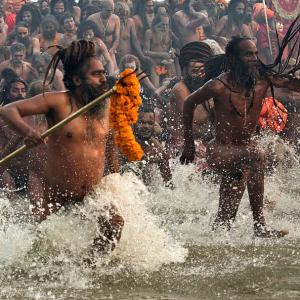 WATCH: These babas are the main draw at Kumbh Mela