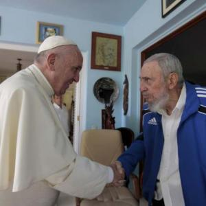 PHOTOS: What Pope told Fidel Castro