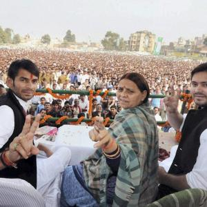 'Lalu's sons should not be ministers'
