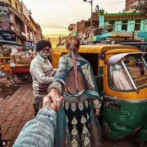 PHOTOS: Follow them through India and be blown away