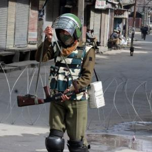 Why the army is down and out in Kashmir