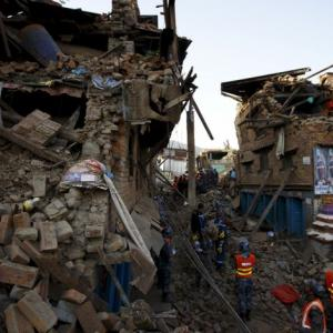 PHOTOS: Nepal still in rubble a year after devastating quake