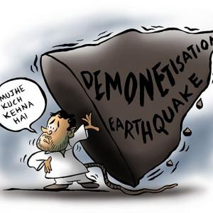 Just imagine! Rahul Gandhi's earthquake-wallah speech