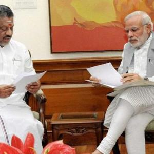 'OPS does not have a direct line to Modi'