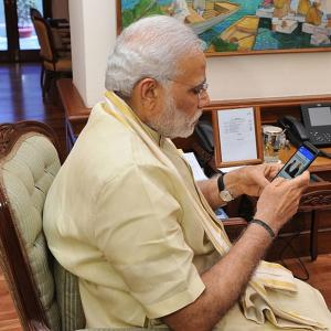NaMo, India's first social media PM