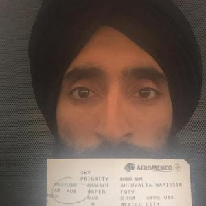 US-based Sikh actor Waris Ahluwalia denied boarding due to turban