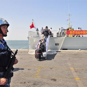 Look, what China's navy is up to!