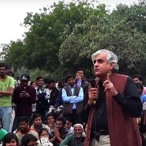 P Sainath @ JNU: 'You are fighting criminalisation of dissent'