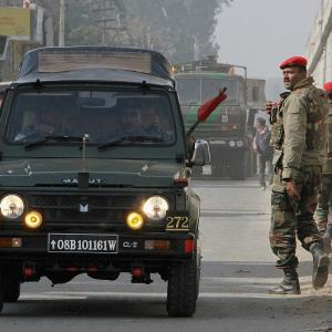 Were terrorists already inside Pathankot air base a day prior to attack?
