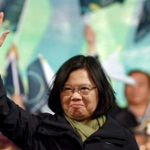 Taiwan's first lady Prez faces the Chinese Challenge