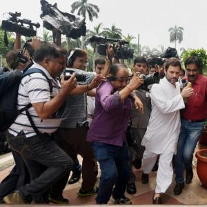 'Why was Rahul running away from this case?'