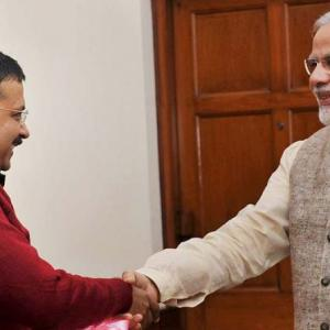 Modi unable to digest defeat in Delhi: Kejriwal after bill is rejected