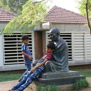 To Gandhiji, wherever he is