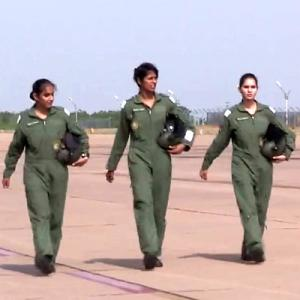 Meet India's first 3 women fighter pilots