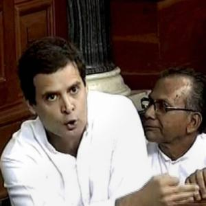 RATE Rahul Gandhi's speech in Parliament