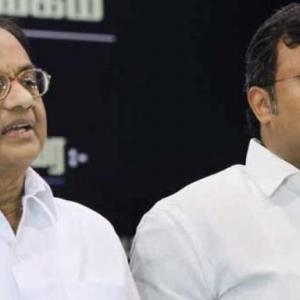 Karti being targeted because he is my son: Chidambaram