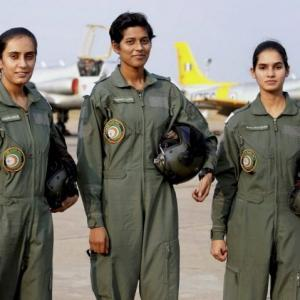 Meet India's first three women fighter pilots