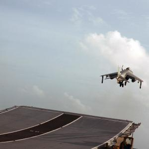 End of an era: Navy bids farewell to the Sea Harrier