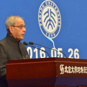 President Pranab lists 8 steps to resolve India, China issues