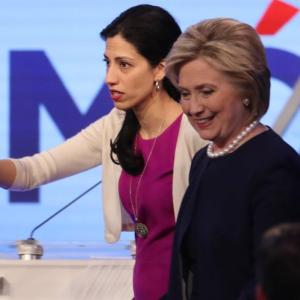 Will Huma cost Hillary the White House?