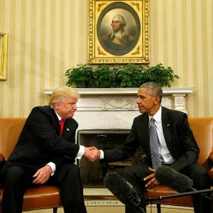 Trump and Obama have an 'excellent conversation'