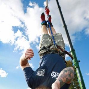 Skydiving magic, bungee dunk! It's Guinness World Records Day
