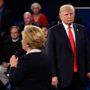 Trump threatens to jail Clinton as he fights to keep campaign alive