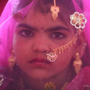 SHOCKING! Every 7 seconds, a girl under 15 is married