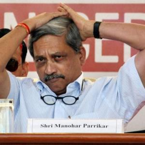 Manohar Parrikar credits 'RSS teaching' for surgical strikes