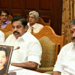 TN ministers hold talks to discuss unity of AIADMK factions