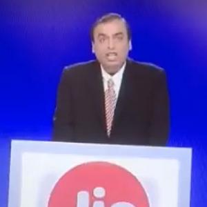 Mukesh ups the ante with Jio's free voice and roaming, cheaper data
