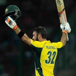 Maxwell fires Australia to world record 263; beat SL by 85 runs