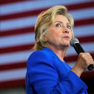 Clinton: If polls had been on Oct 27, I'd be President