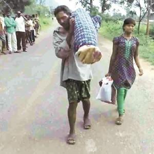 Help pours in for Dana Majhi, who walked 10 km with dead wife on shoulder