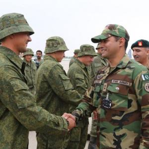 Russia says military drill with Pakistan not in Pakistan-occupied Kashmir