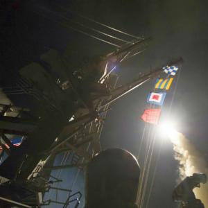 US launches missile strike against Syria after chemical attack