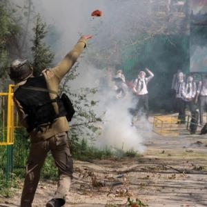 Why Kashmiri students are throwing stones