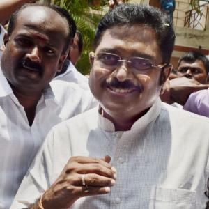 After revolt, Dinakaran 'steps aside'