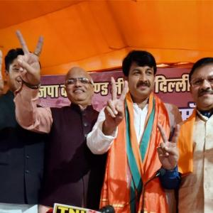 MCD results: BJP heads for big win, Kejriwal a far second