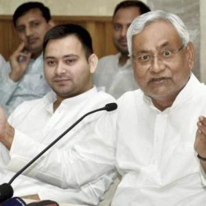 How long is Nitish assured of BJP's support?