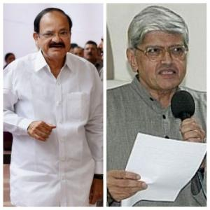 Naidu or Gandhi? India to know its new vice president on Saturday