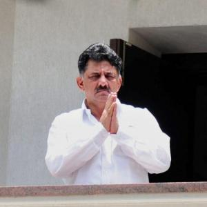 Cong leader Shivakumar appears before ED in Delhi