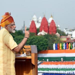 Watch Live! PM Modi addresses nation from Red Fort